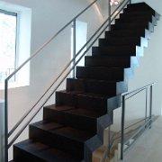 Stahl Holz Treppe treppen innen
